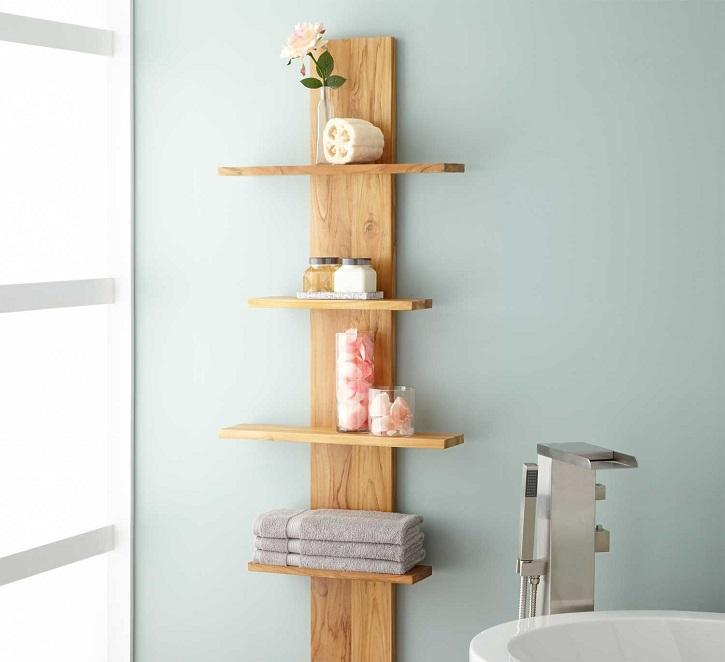 meilleure etagere salle de bain