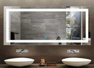 meilleur miroir salle de bain