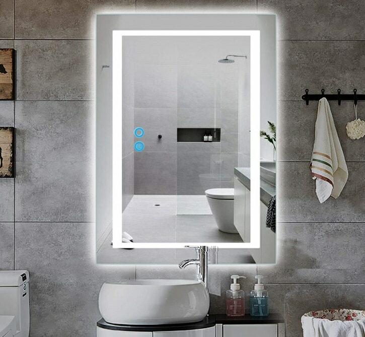 miroir salle de bain anti-buée