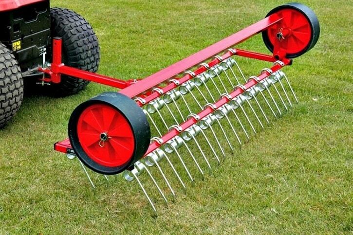 meilleur scarificateur pour tracteur tondeuse