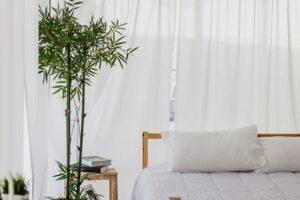 oreiller en bambou
